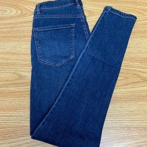 Garage high waist skinny jeans size 3